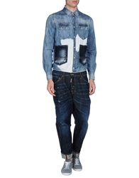 Dsquared2 Pant Overalls Blue