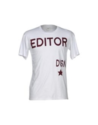 The Editor T Shirts Light Grey