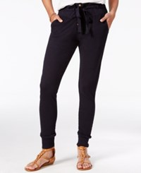 Roxy Juniors' Endless Highway Cotton Skinny Jogger Pants Anthrasite