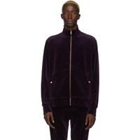 Ralph Lauren Purple Label Velvet Track Jacket