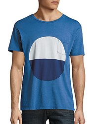 Quality Peoples Sunrise Colorblock T Shirt Coast