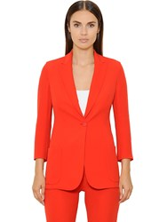 Akris Silk Crepe Georgette Jacket