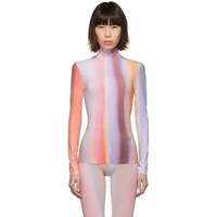 Thierry Mugler Multicolor Airbrush Turtleneck