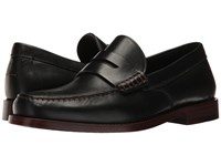 Coach Manhattan Leather Loafer Black Slip On Shoes