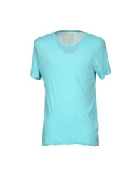 V Room T Shirts Turquoise