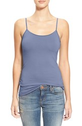 Junior Women's Bp. Stretch Camisole Blue Colony