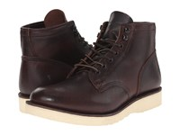 Frye Freeman Midlace Redwood Vintage Pull Up Men's Boots Brown