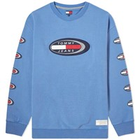 Tommy Jeans Summer Oval Sweat Blue