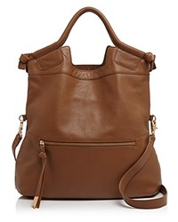 Foley Corinna Mid City Tote Chestnut