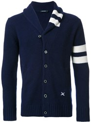 Guild Prime Shawl Lapel Cardigan Blue