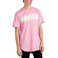 Mastermind Japan Missions Distressed Cotton T Shirt Pink