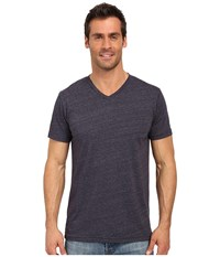 United By Blue Standard V Neck Navy Men's Clothing
