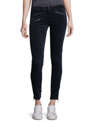 Rag And Bone Rbw 23 Velvet Skinny Jeans Navy Velvet
