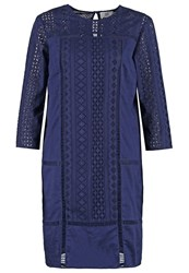 Noa Noa Anglaise Summer Dress Peacoat Dark Blue