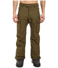 686 Authentic Infinity Shell Cargo Pants Olive Men's Casual Pants