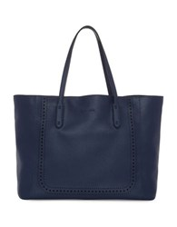 Splendid Key Largo Faux Leather Tote Navy