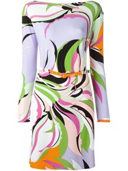 Emilio Pucci Abstract Pattern Dress