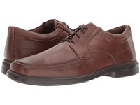 Hush Puppies Prinze Hopper Light Brown Leather Men's Lace Up Casual Shoes