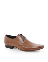 H By Hudson Leather Smart Shoes Tan