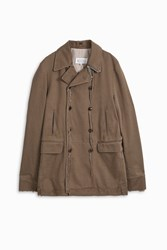 Maison Martin Margiela Men S Show Distressed Coat Boutique1 Beige