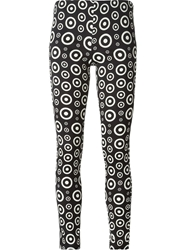 Fausto Puglisi Circle Print Trousers Black