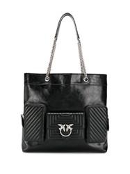 Pinko Big Love Tote Bag Black