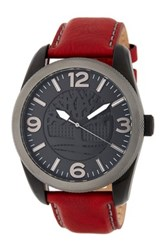 Timberland Men's Bolton Leather Watch Beige