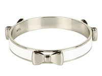 My Flat In London Windsor Bangle Nickel White Bracelet Bone