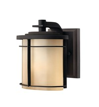 Hinkley Ledgewood Outdoor Wall Light 1126 X Small 7.25 In H Mr Museum Bronze Incandescent Black