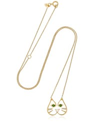 Ruifier Felix Pendant Necklace Gold