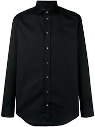 Emporio Armani Slim Fit Shirt Black