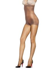 Hanes Silky Reflections Sheer Hi Waist Control Top Tights Little Color