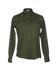 Aglini Shirts Military Green