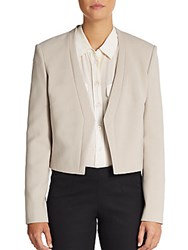 Hugo Boss Jubana Ponte Knit Jacket Light Beige