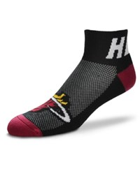 For Bare Feet Miami Heat The Cuff Ankle Socks Black
