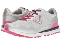 Callaway Solaire San Clemente Grey Pink Women's Golf Shoes Gray