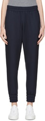 Mother Of Pearl Navy Textured Rhea Lounge Pants