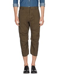 Reign 3 4 Length Shorts Military Green