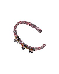 Pili Carrera Girls' Beaded Tweed Headband Multi