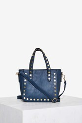 Taking Totes Studded Bag Blue