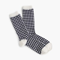 J.Crew Gingham Trouser Socks