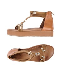 Inuovo Sandals Camel