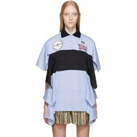 Burberry Blue Runway Polo