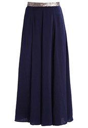 Anna Field Maxi Skirt Navy Dark Blue