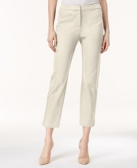 Charter Club Solid Capri Pants Only At Macy's Sand