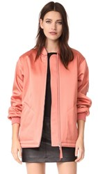 Alexander Wang T By Oversized Bomber Jacket Fig