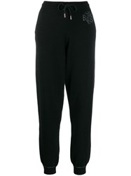 Barrie Cashmere Track Trousers Black