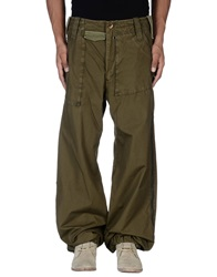 L.G.B. Casual Pants Military Green