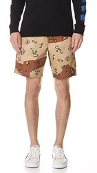 Obey Subversion Shorts Choco Chip Camo