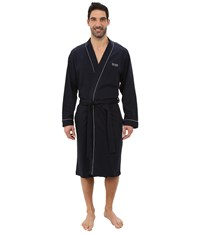 Hugo Boss Innovation 1 Cotton Kimono Robe Navy Men's Robe